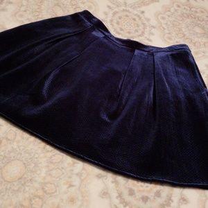 🐋Blue Velvet Skirt 16🐳